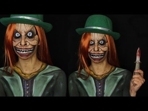 scary leprechaun makeup - Google Search | halloween horror ...