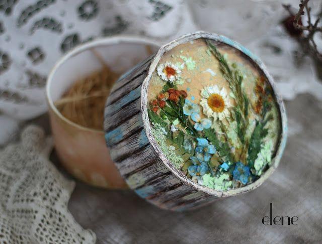 elene: Коробочка с сухоцветами