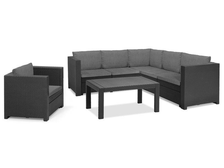 Keter Gartenmobel Lounge Set Provence Mit Tisch Sessel Lidl De