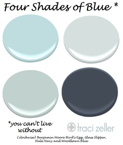 Fresh 4 Shades of Blue You Can t Live Without Trending - Best of shades of blue paint colors Unique
