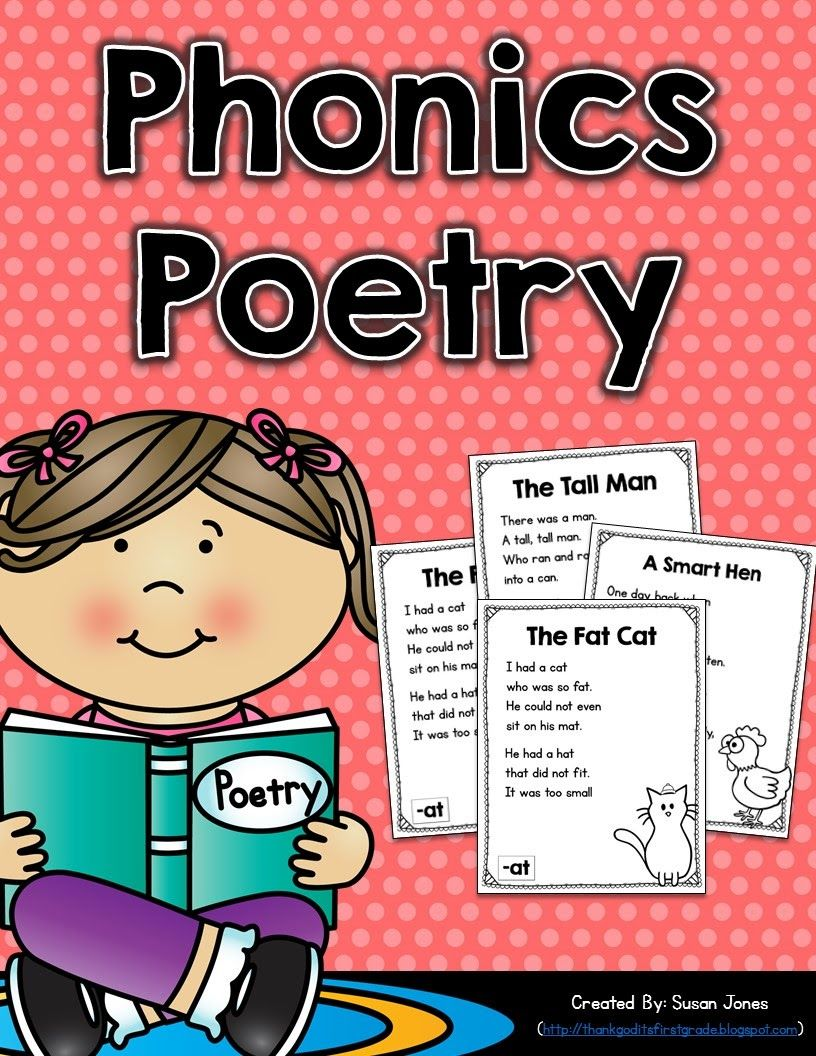 phonics poetry for grades k 2 susan jones teaching first grade literacy first grade. Black Bedroom Furniture Sets. Home Design Ideas