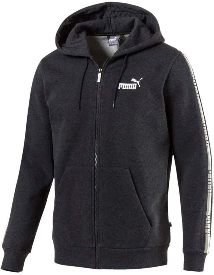 dadd9ba5259e Puma Men s Tape Full-Zip Hoodie   Products   Fleece hoodie, Hoodies ...