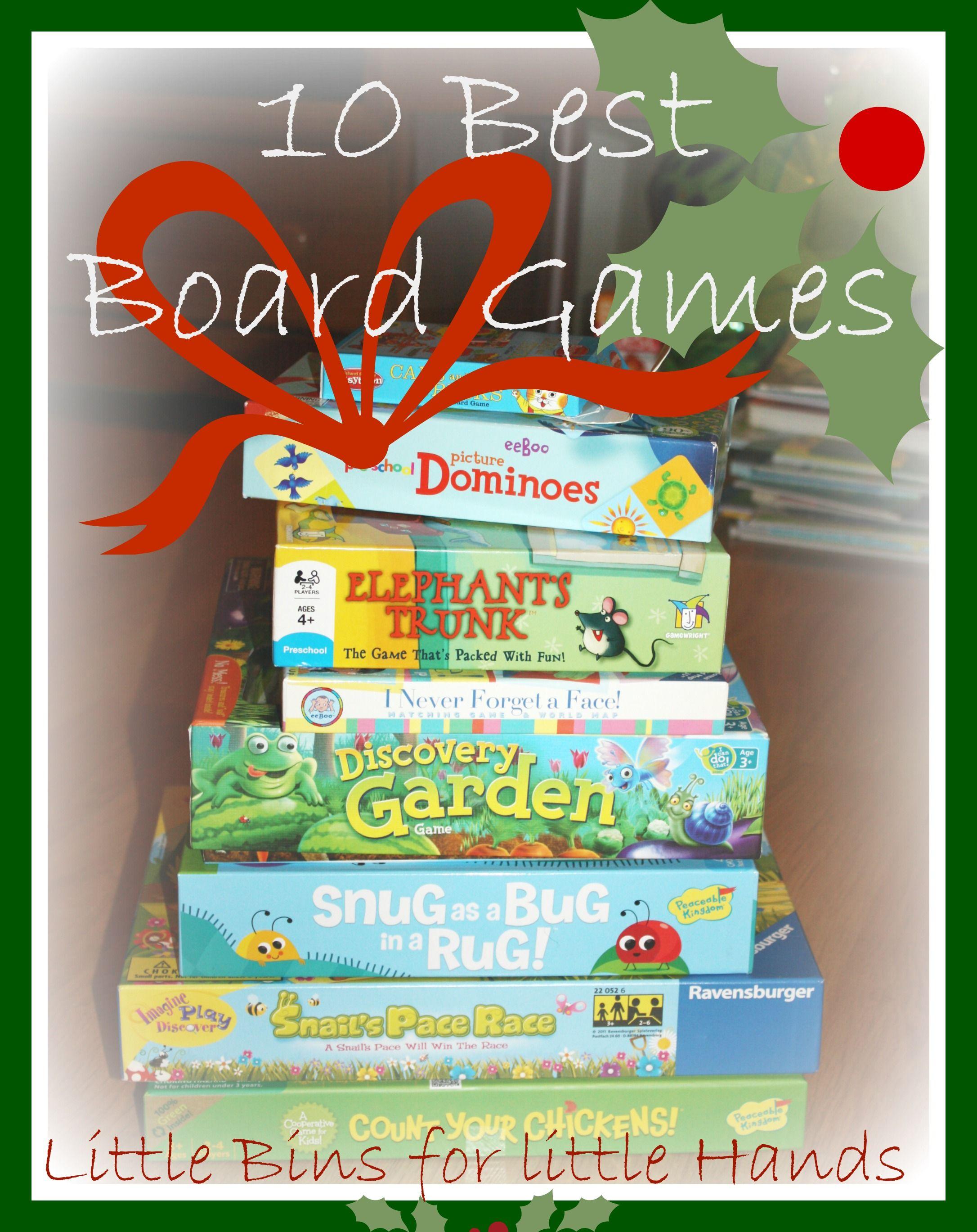 Best Board Games For 4 Year Olds Preschool Board Games Fun