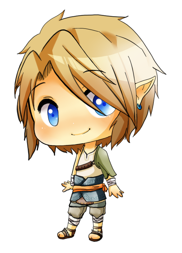 LOZ Chibi Ordon Link By Linkinounet62deviantartcom The Legend Of Link Starring Princess