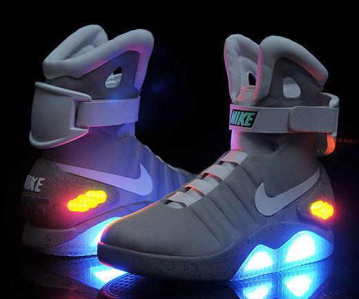 Nike presenta tenis con tecnología de 'Volver al Futuro'
