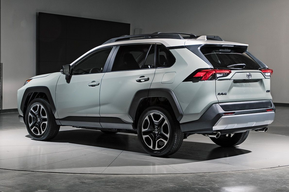 2019 Toyota Rav4 First Look New Look For The Suv Sales King With