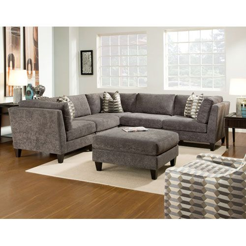 McGraw Sectional Sofa With Ottoman Bauhaus Usa Round Sofas u0026 Sectionals Living Room Furnit  sc 1 st  Pinterest : usa sectionals - Sectionals, Sofas & Couches
