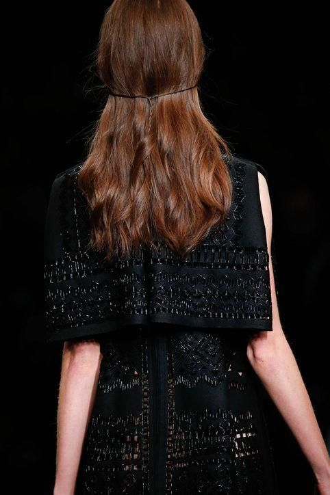 Click for 21 snaps of hairstyles that look most gorgeous seen from behind (including this romantic Valentino style)