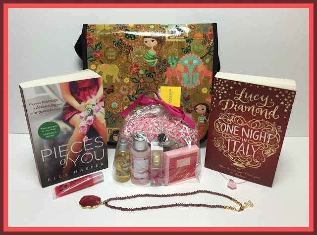 Suze likes, loves, finds and dreams: Giveaway: Books, L'Occitane, The Body Shop, Necklaces & Shoulder Bag