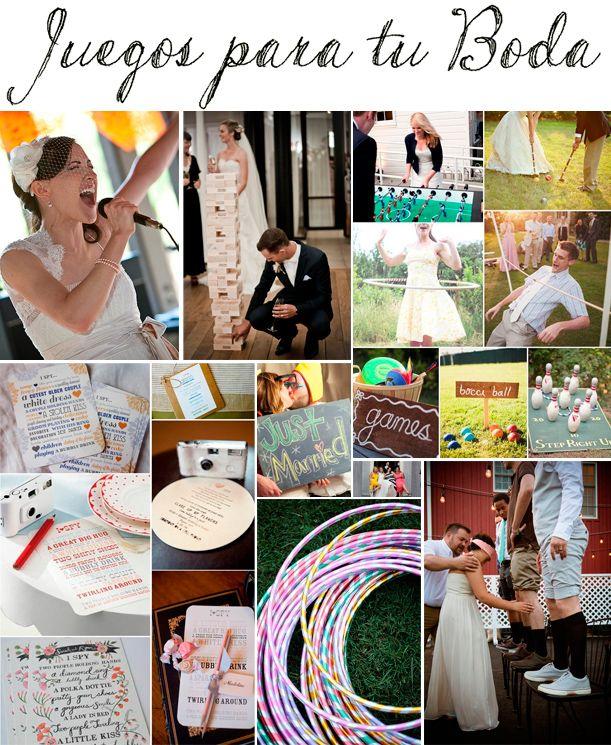 juegos y actividades para que tu boda sea realmente inolvidable