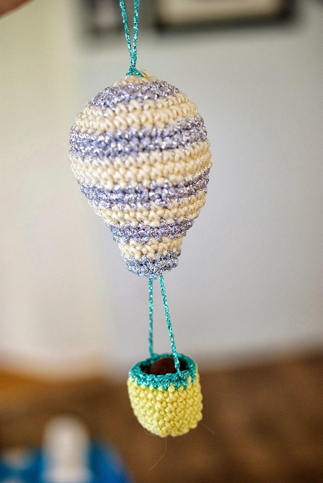 Greedy Por Color: Decoraciones de Navidad: un globo de aire caliente Tutorial Mini.