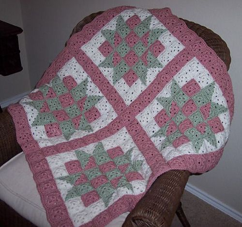 Ravelry Baby Blocks Crochet Quilt Pattern By Cl Halvorson