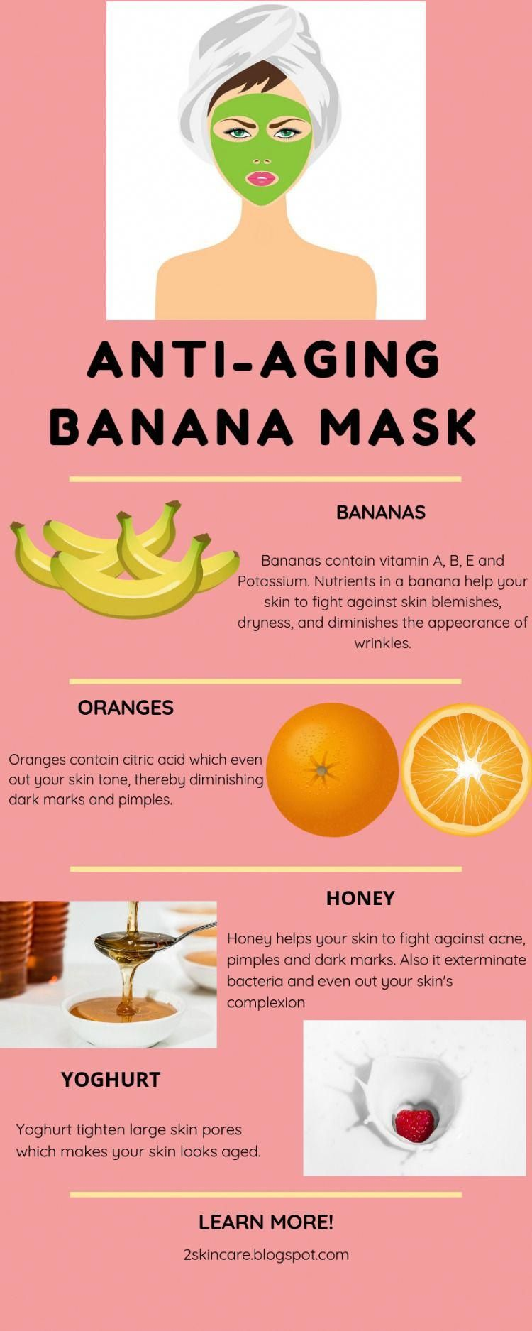 Photo of ANTI-AGEING BANANA FACE MASK TO FIGHT WRINKLES