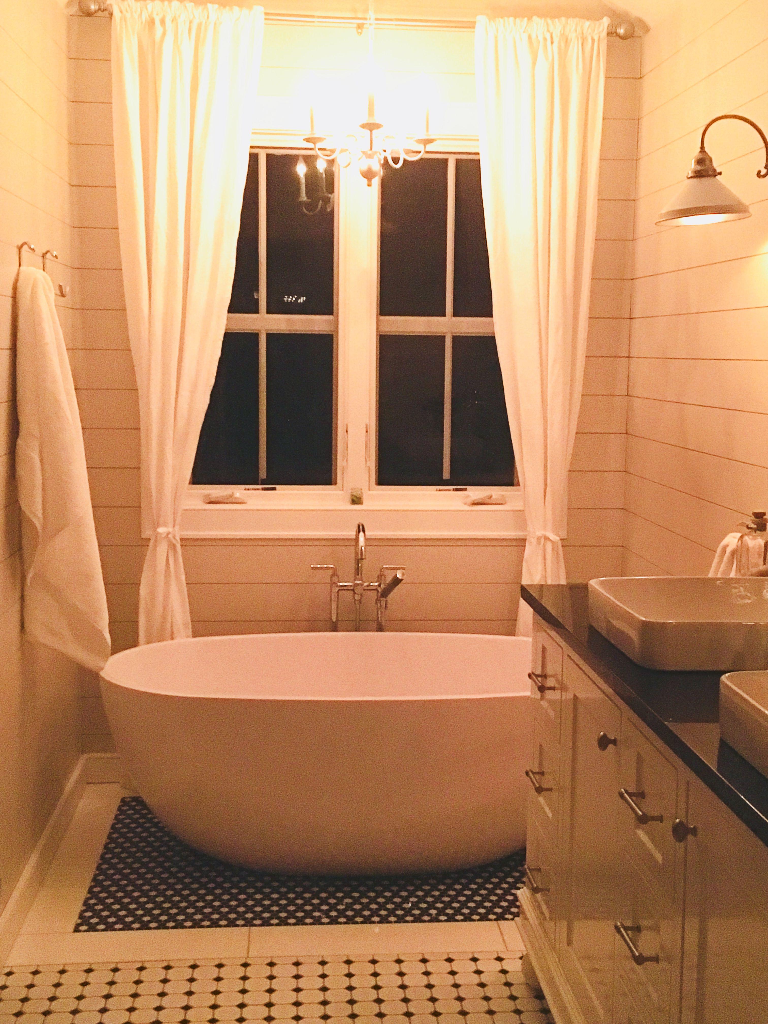 freestanding soaking tub  soaking tub bathroom update