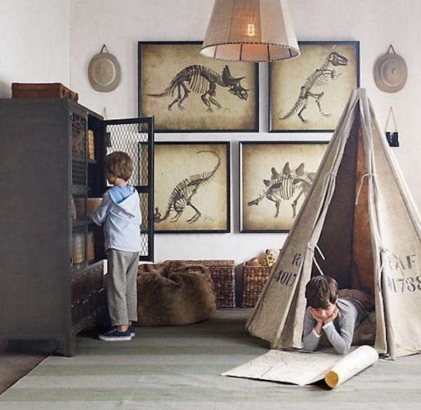 4 habitaciones infantiles de dinosaurios habitaciones - Habitaciones ninos originales ...