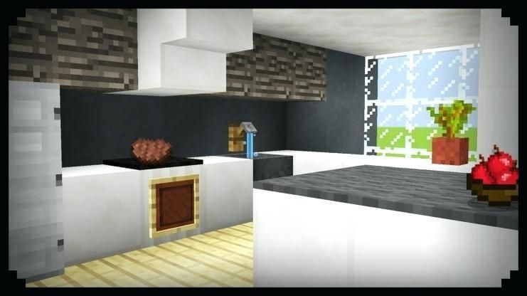 Kitchen Ideas In Minecraft Podelki Minecraft Podelki