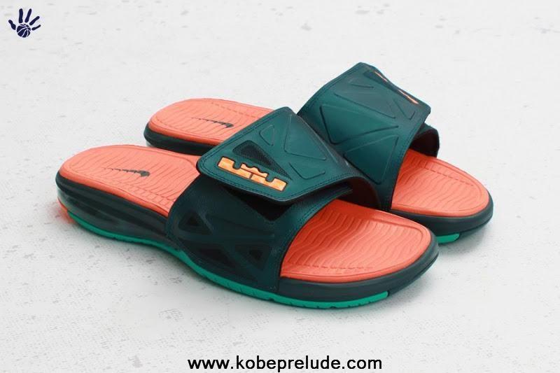 739968c042cf7 Dark Atomic Teal Total Orange Atomic Teal Gators Nike Air Lebron Slide 2  Elite 578251 383 Sale