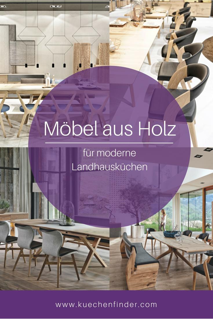 Landhausküchen: Küchenmöbel Aus Holz Von Voglauer | Pinterest |  Landhausküchen, Küchenmöbel Und Moderne Landhausküche