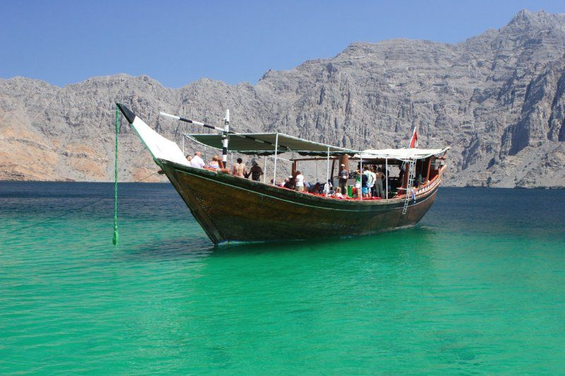 Top 10 best tourist places in Oman  Musandam Fjords, Oman