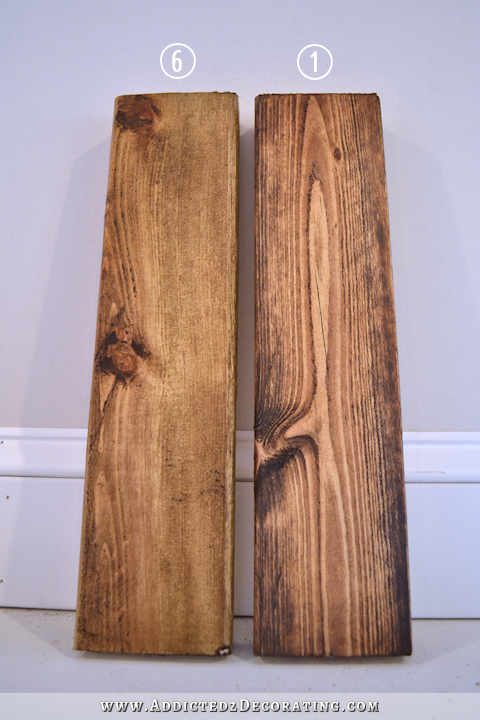 How To Stain Pine A Warm Medium Brown While Minimizing Ugly Pine
