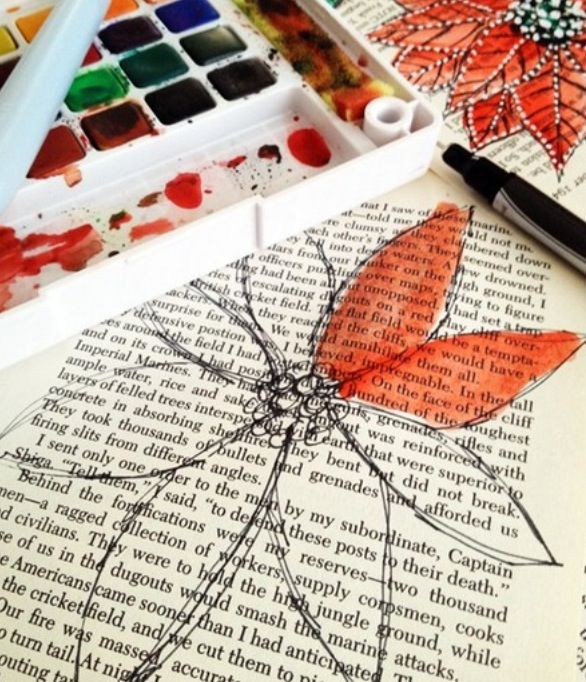 Easy Book Art Projects