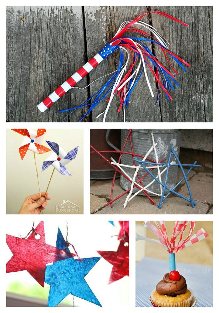 A List Of The Best Patriotic Crafts For Adults Or Kids Great For
