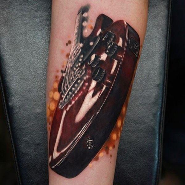 84d95cdc697f4 Realism Tattoo Gallery | Realism Tattoos | Guitar tattoo, Realism ...