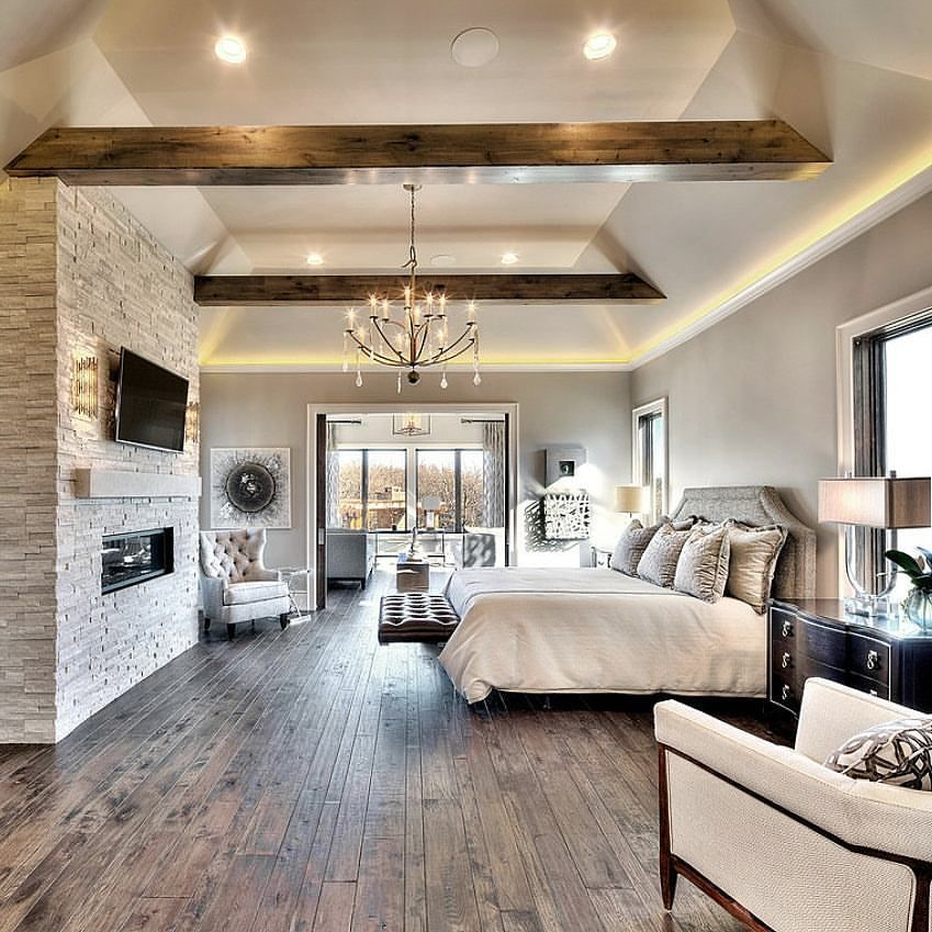 Top 60 Best Master Bedroom Ideas: Our Home Is Decorated Rustic Glam. Love It!