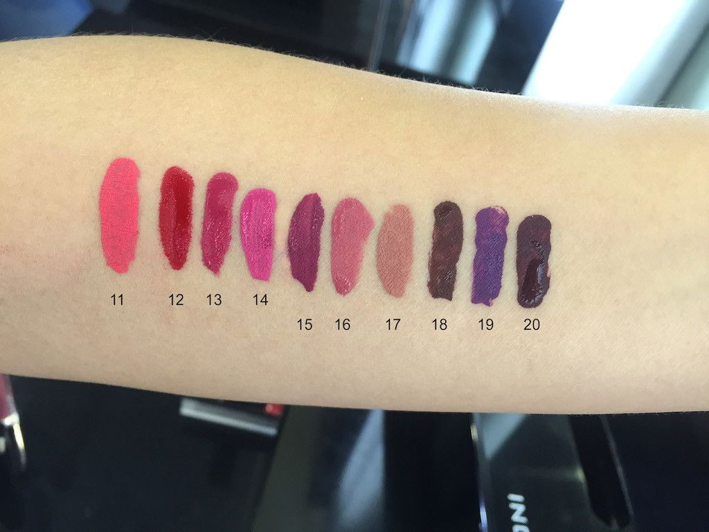 HD Lip Tint Matte by Inglot #21
