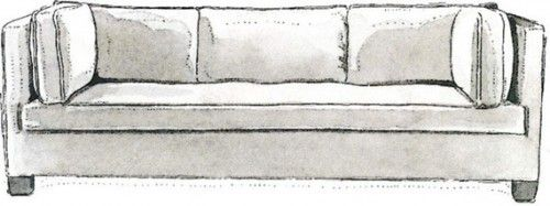tuxedo a signature of society decorator billy baldwin this sofa is rh pinterest com billy baldwin style sofa billy baldwin couch
