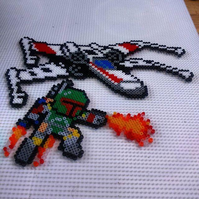 Star Wars perler beads by yurekart
