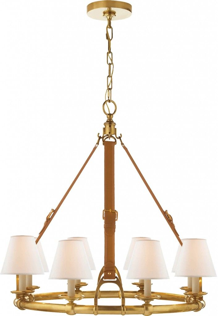 Half Price Ralph Lauren Home Equestrian Theme Chandelier