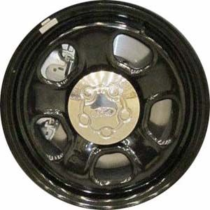 Stl3921hh Ford Taurus Explorer Police Interceptor Rim Steel Black