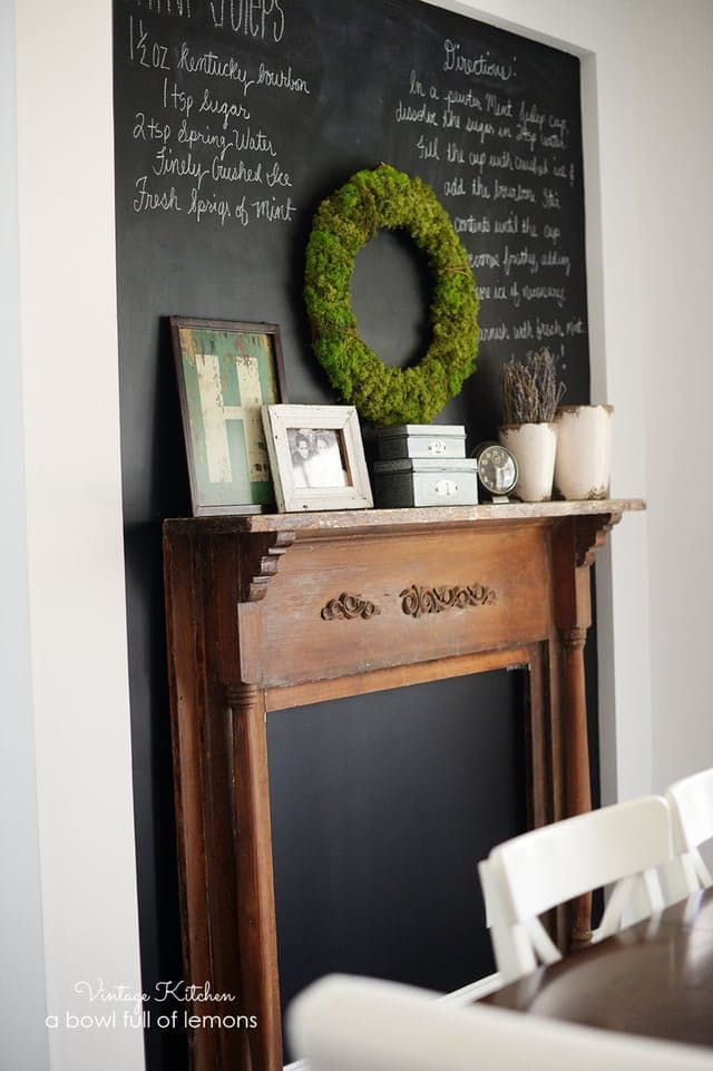 Fireplace facade and Mantels