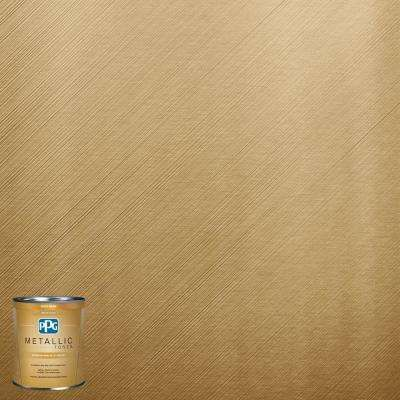 1-qt. MTL137 Gilded Gold Metallic Interior Specialty Finish Paint ...