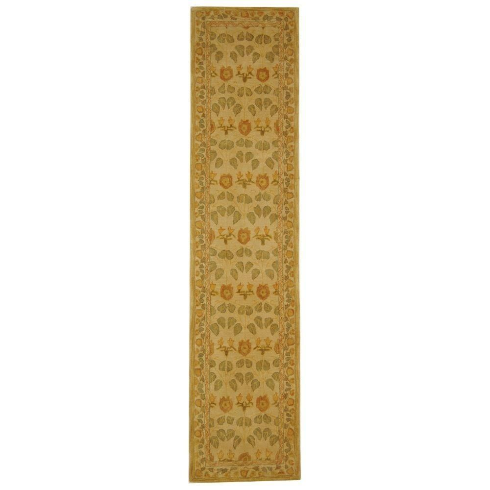 Anatolia Ivory 2 ft. 3 in. x 14 ft. Rug Runner