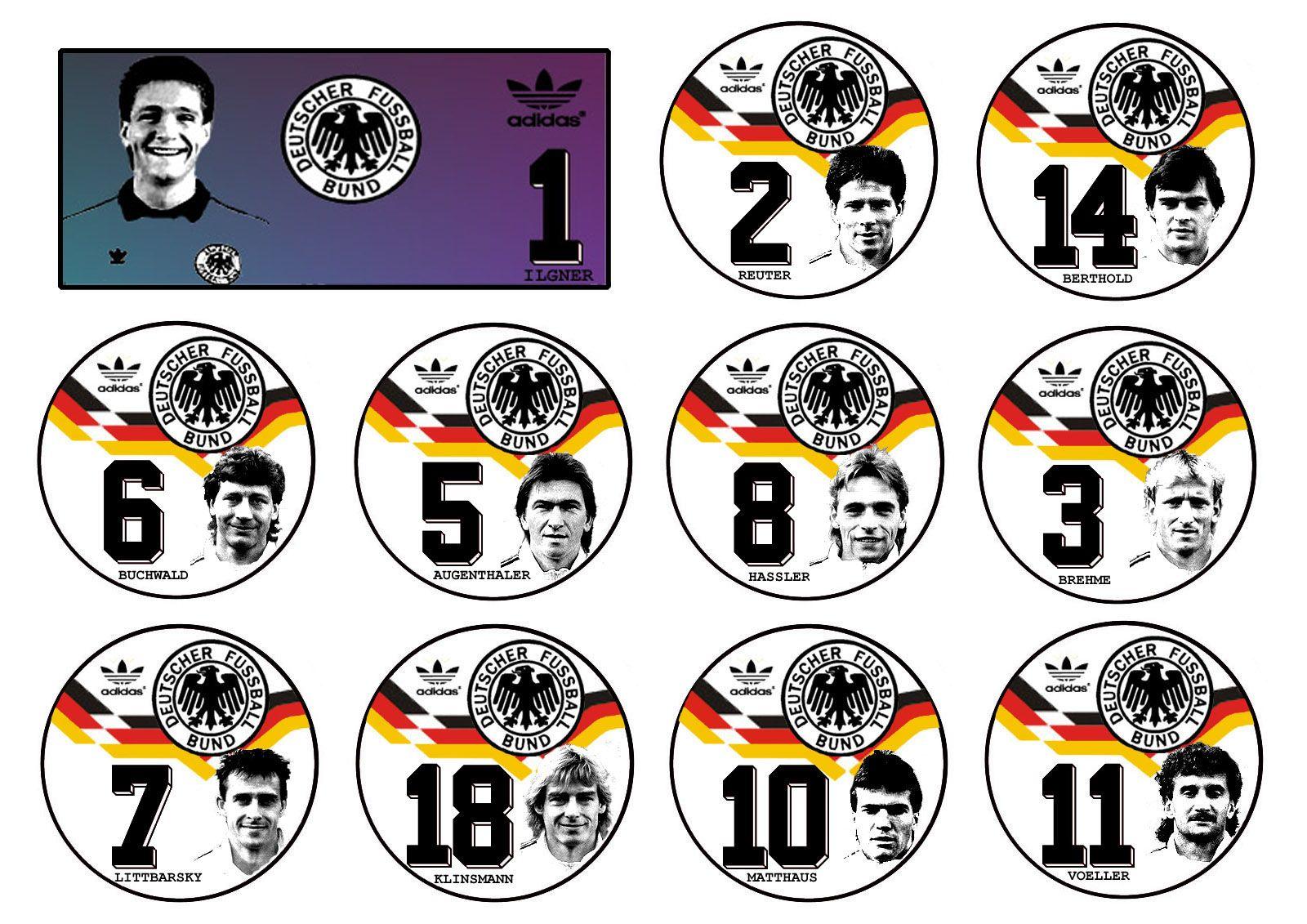 Alemanha Campeã do Mundo 1990