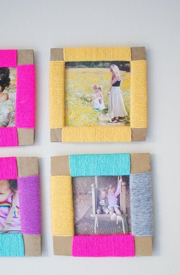 Regalos Día de la Madre: 5 portarretratos caseros | Pinterest | Día ...