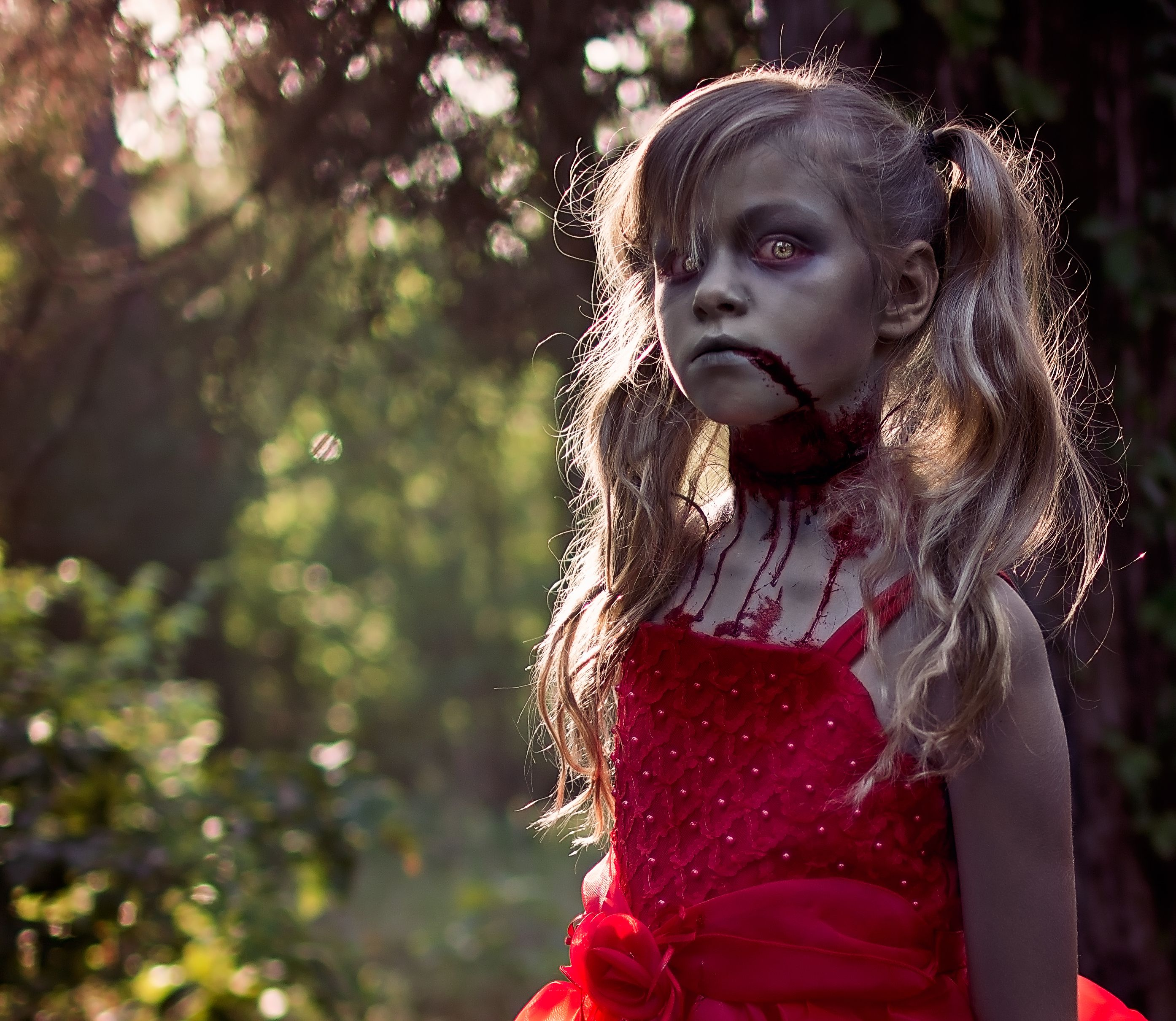 Kids Living Dead Tea Party by Ally K Photography Creepy, Halloween ...
