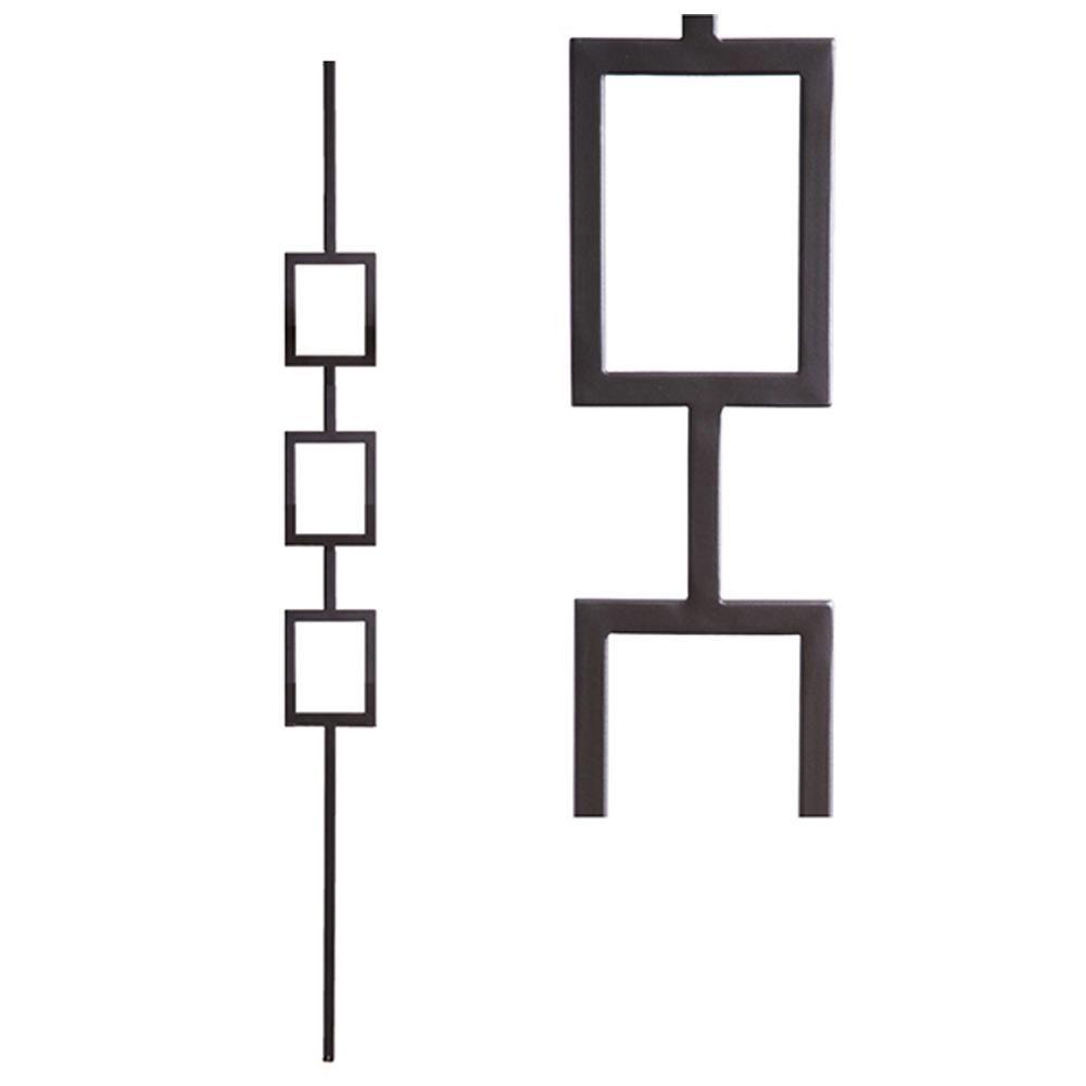 Best House Of Forgings Aalto Modern 44 In X 5 In Satin 400 x 300