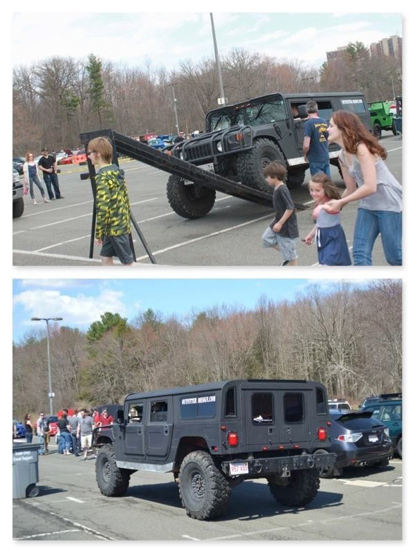 Hummer #H1 at the Umass Car Show Amherst Mass on the RTI Ramp ...
