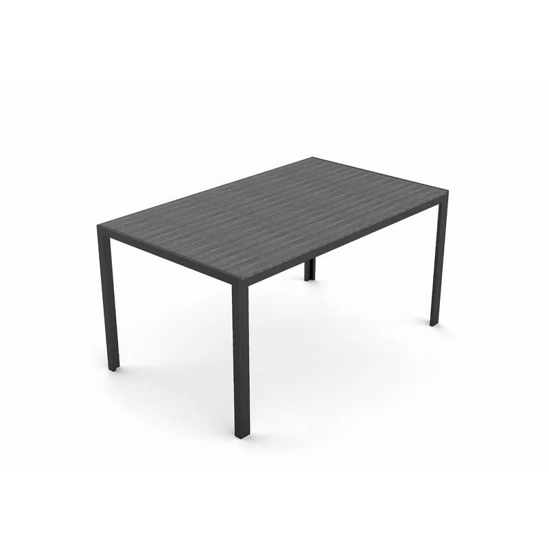 Esstisch Mcardle Aus Aluminium Und Kunststoff Metall Esstisch Esstisch Tisch
