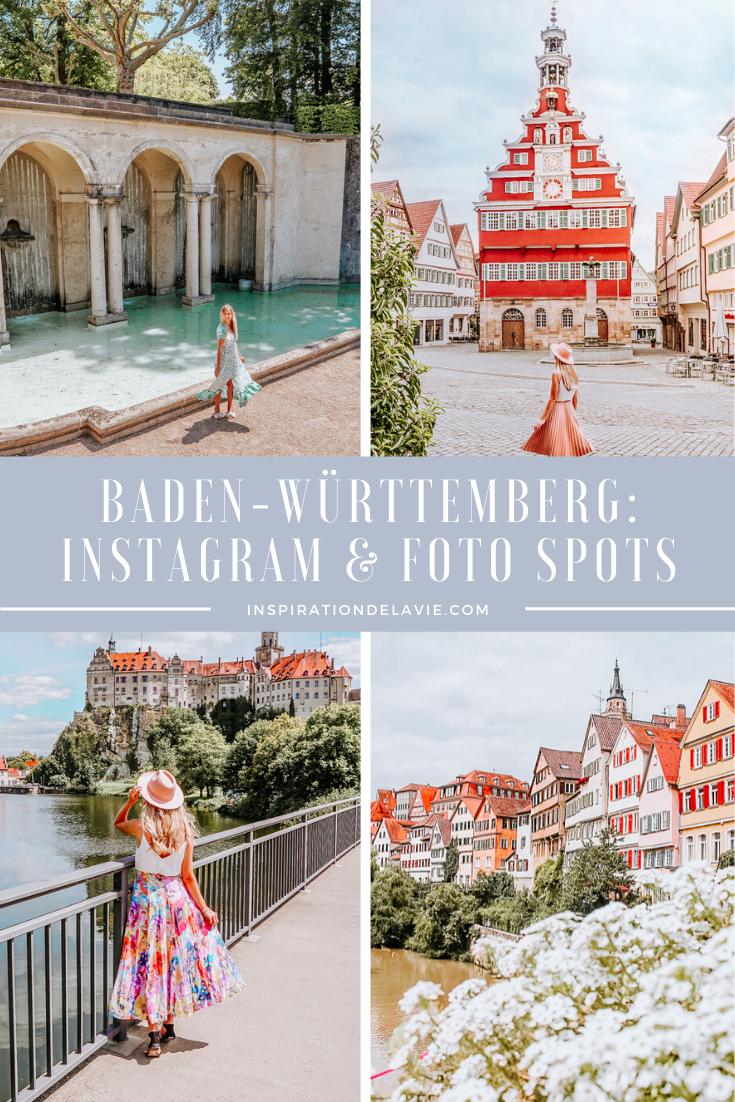 Pin auf Foto und Instagram Spots in BadenWürttemberg