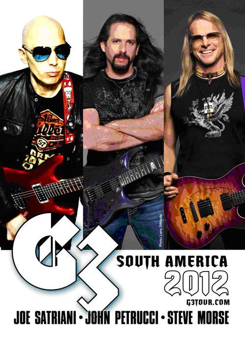 G3 History | Joe Satriani Universe