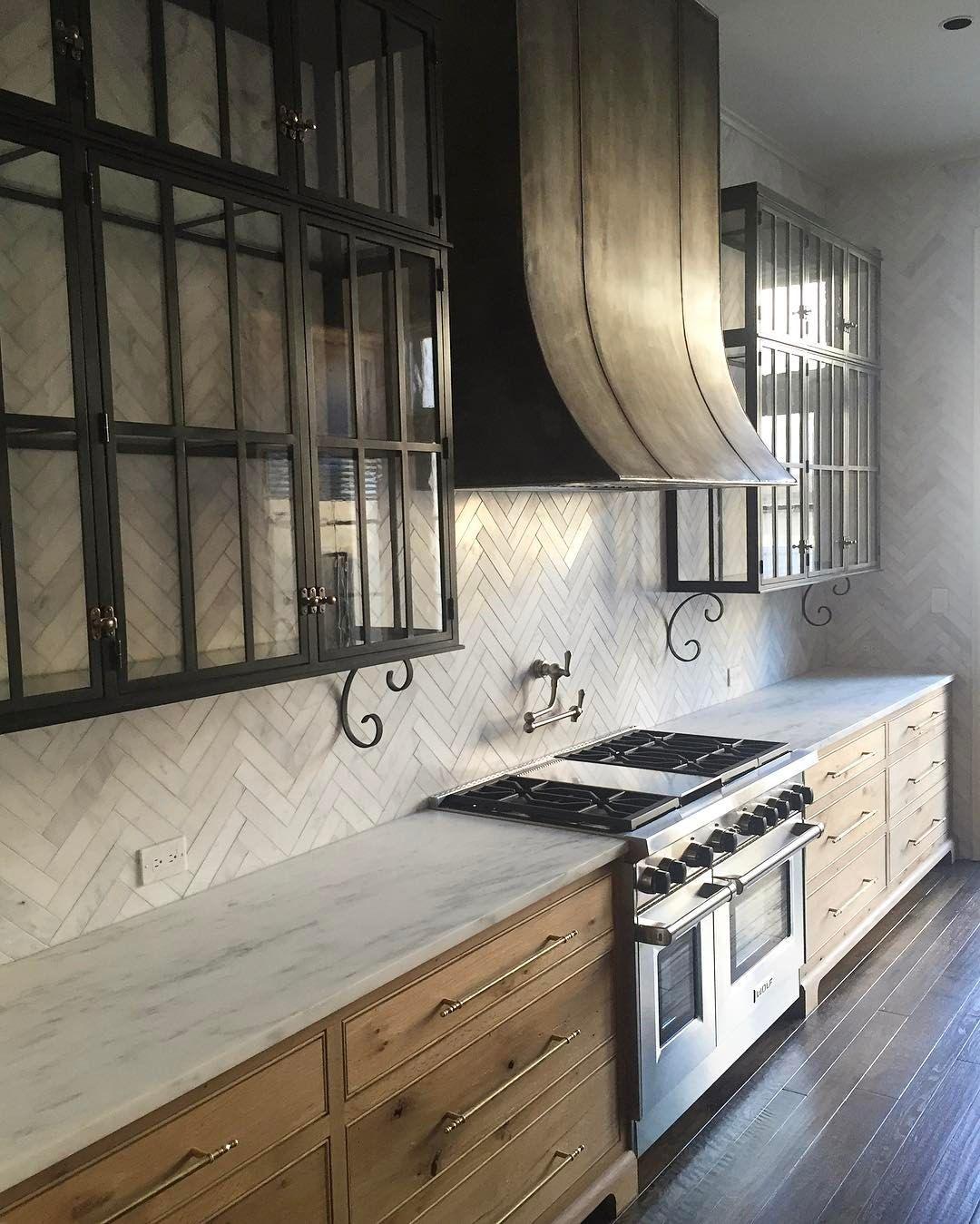 Kitchen Rustic And Modern Francisbryantconstruction