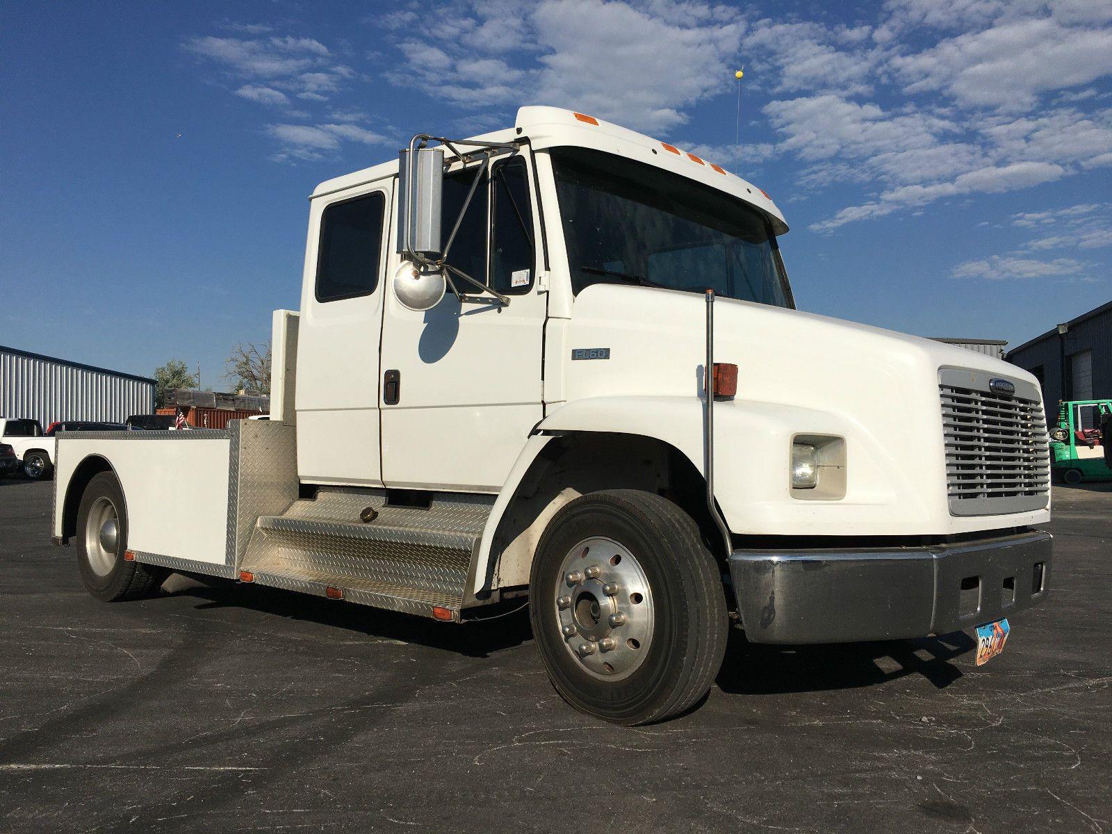 2002 Freightliner Fl60 Extended Cab Truck Freightliner Extended Cab Trucks