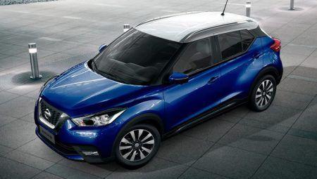 Nissan Kicks Blue White Roof Dual Tone Suv Nissan Bike News