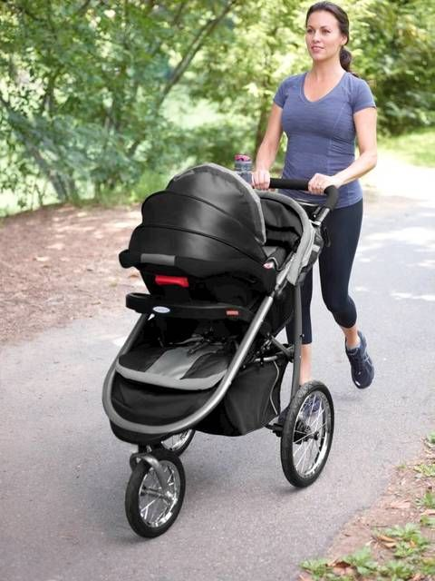 This Crossover Stroller Combines The Features Of A Traditional