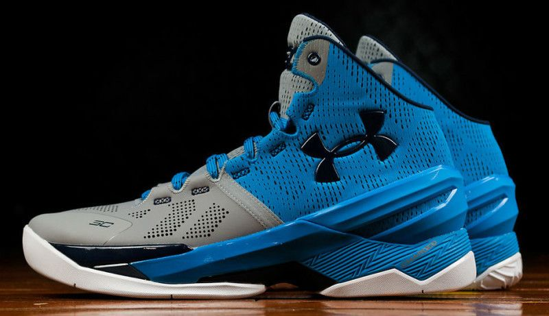 Under Armour Curry Two Steel Electric Blue  58db4f011