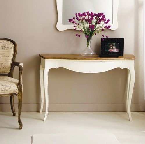Consola vintage blanca mai consolas vintage muebles for Consola recibidor vintage
